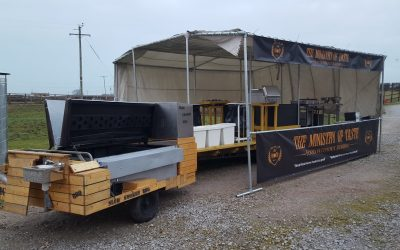 The ultimate bar's sorted – now for the catering…